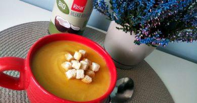 zupa z mlekiem kokosowym