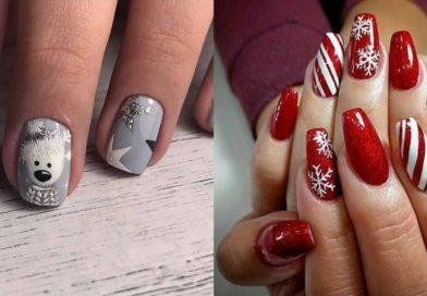 Zimowe paznokcie – 30 wzorów na (nie tylko) świąteczny manicure [GALERIA]